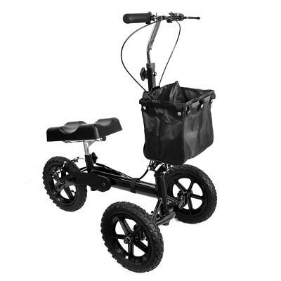 All Terrain Steerable Knee Scooter Knee Walker Heavy Duty Crutches Alternative