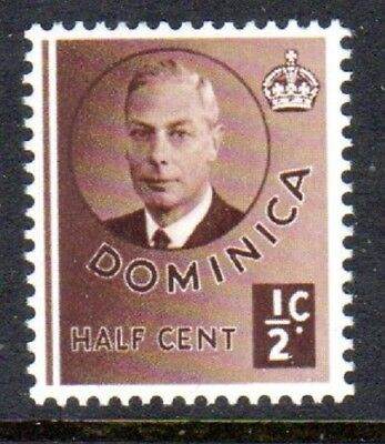 1951 DOMINICA ½c King George VI SG120 mint unhinged
