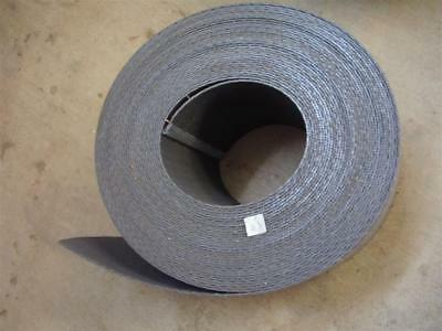 "Gray Conveyor Belt 10 inch wide x 1/8 inch thick x 100' Long - 10"" x 1/8"" x 100'"