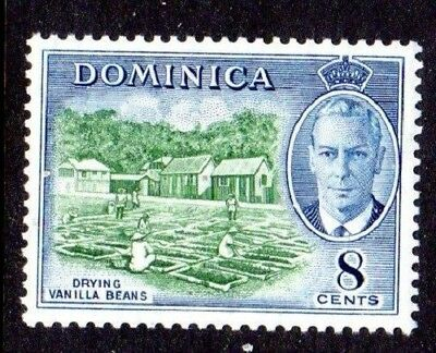 1951 DOMINICA 8c drying vanilla beans SG127 mint unhinged