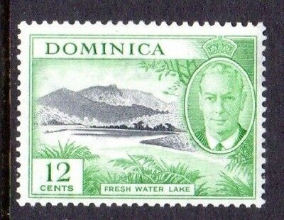 1951 DOMINICA 12c fresh water lake SG128 mint unhinged