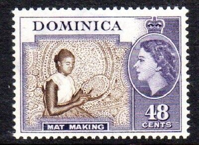 1954-62 DOMINICA 48c mat making SG155 mint unhinged