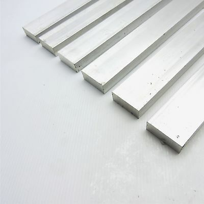 ".5"" x 1.75"" Aluminum Solid 6061 FLAT BAR 16.5"" Long mill stock Pieces 6 sku K515"