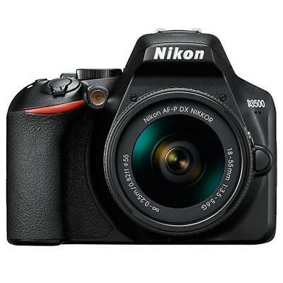 Nikon D3500 DSLR Camera with AF-P Non VR DX 18-55mm Lens UK Seller fast postage