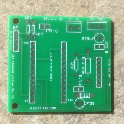 DCC COMMAND STATION, free App and instructions - PCB for sale