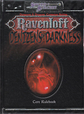 Sword & Sorcery - Ravenloft. Denizens of Darkness. Core Rulebook