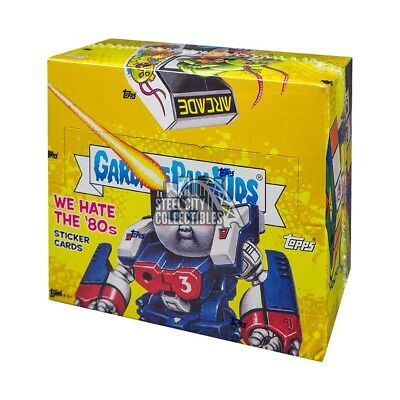 2018 Topps Garbage Pail Kids We Hate The 80s Hobby Box