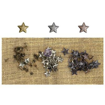 MINI STAR BRADS - Sunrise Sunset Mechanicals Vintage Trinkets - Prima Marketing