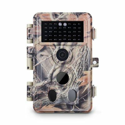 Meidase Trail Camera 16MP 1080P, Game Camera with No Glow Night Vision Up to