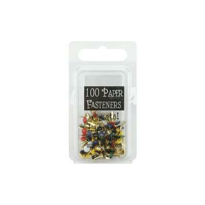 MINI ROUND BRADS - PRIMARY COLOURS (pack of 100) - Creative Impressions