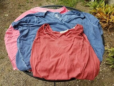 a59a3a184ab Ladies Plus Size 4x Lot Of 3 New Nwt Blouses Tank Tops Cute Casual Dressy