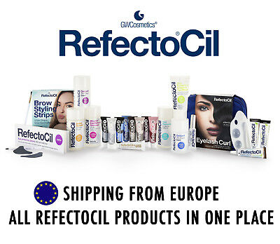 RefectoCil Eyebrow Eyelash Products: Tints, Oxidants, Brushes, Removers, Kits