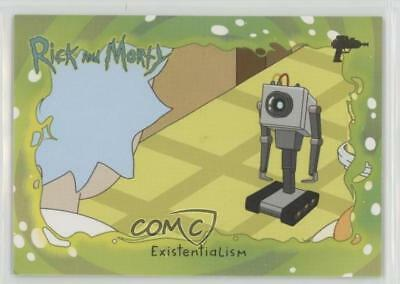 2018 Cryptozoic Rick and Morty Season 1 Deco Foil #33 Existentialism Card 5i7
