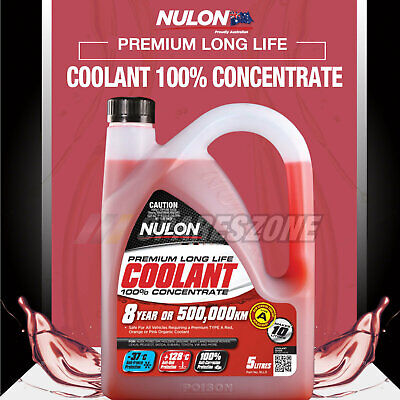 Brand New NULON Red Long Life Concentrated Coolant 5L For RENAULT Clio