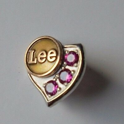 Lee Jeans Co. 10K Gold & Ruby Service Pin