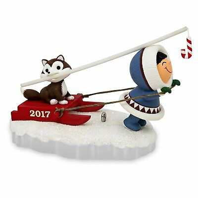 Hallmark 2017 ~ Frosty Friends ~ 38TH in Series Ornament - Scratches on Box.