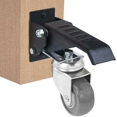 11500 Workbench Caster kit - 4 Heavy Duty Retractable casters, Urethane Wheels,