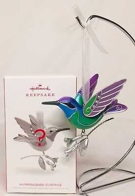 Hallmark Keepsake Beauty Of Birds Hummingbird Surprise GREEN 2018