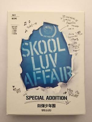 BTS Skool Luv Affair Special Addition CD DVD Photocard No Photocard