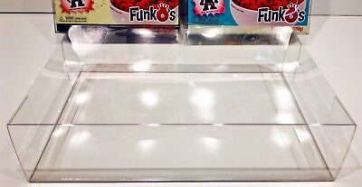 2 Pack Of Box Protectors For FUNKO POP! CEREAL Boxes!  Custom Made Crystal Clear
