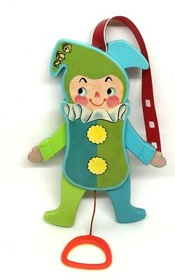 Vintage Fisher Price Jolly Jumping Jack #145 Baby Toy