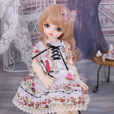 1 4 BJD DOLL Girl Rosenlied RL Mignon FREE FACE MAKE UP+FREE ... 77045f249580