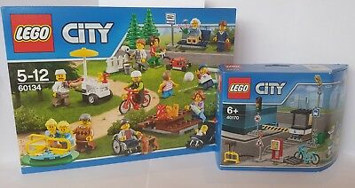 Grandma from set 60134 Fun in the Park Town City NEW cty660 Lego Grandmother