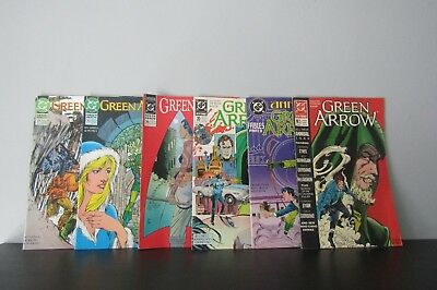 GREEN ARROW #20,35,73,77 Annual #2 & Fables part 2 (DC) (1988 SERIES)