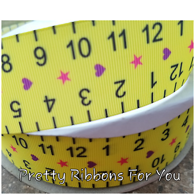 """Pre K GRAD  3/"""" wide grosgrain ribbon the listing is for 2 yards"""