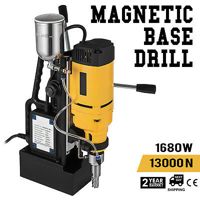 1680W MD-50 Magnetic Base Drill Press 50mm Boring 13000N Magnet Force Tapping
