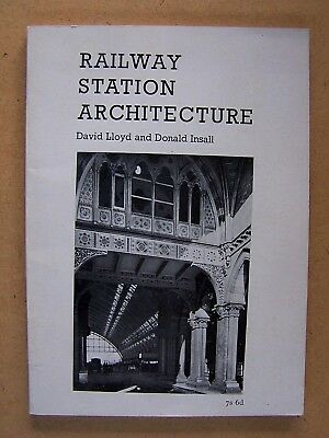 """RAILWAY STATION ARCHITECTURE."" British Book."