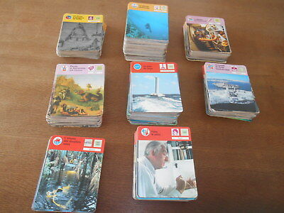 Gros Lot De 992 Fiches Editions Robert Laffont Monde Marin Commandant Cousteau