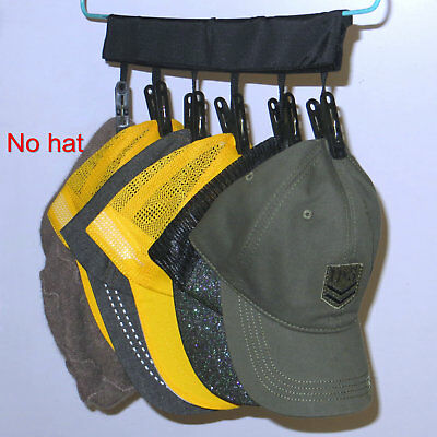 CapRack 6 Baseball Cap Hat Holder Rack Organizer,Ordinary Hanger to Cap Hanger