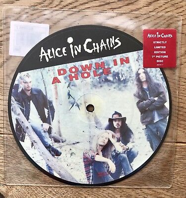 Alice In Chains, Down In A Hole, Picture Disc, Limited Edition