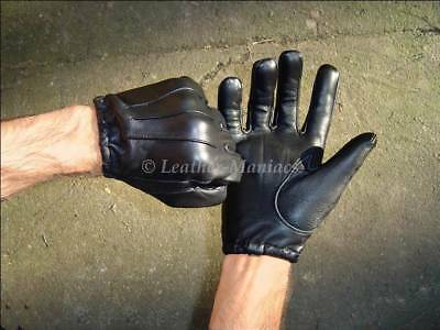 Leather Gloves Police Gloves Gloves Police Cop Gloves