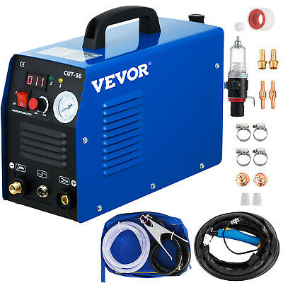 CUT-50 50 Amp Plasma Cutter, 110V / 230V Dual Voltage Digital Cutting Machine