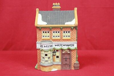 "Dept. 56 ""dickens Village Series"" Geo. Weeton Watchmaker - Retired"