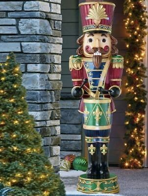 Beautiful 6ft Christmas Nutcracker Soldier With 34 LED Lights - Indoor/Outdoor