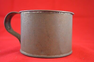 VINTAGE TIN drinking cup   No markings  Excellent condition  VIEW pic's