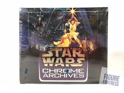 Topps Star Wars Chrome Archives 36 Ct. Sealed Box