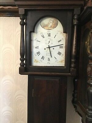 longcase grandfather clock Beautiful Face