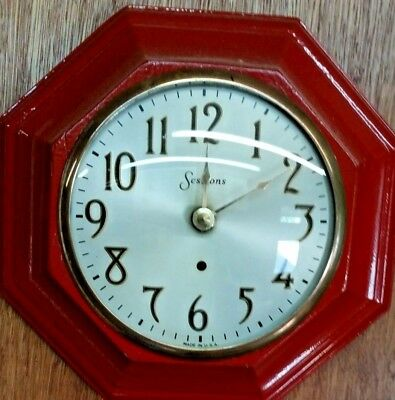 Vintage Sessions Kitchen Wall Clock - Retro - 1935 - Works