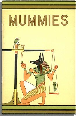 Mummies (1976) - by Richard A Martin - Chicago's Field Museum Booklet #36