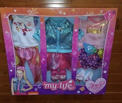 NEW My Life As Jojo Siwa 2018 Clothes Set Clothing HTF Free Priority Shipping!
