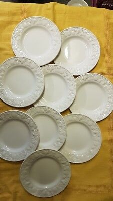 BHS LINCOLN 7 inch SIDE  PLATES X 9