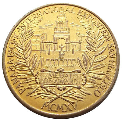 1915 Panama-Pacific Exposition Token - Eastside Beer, 1910s Pre-Pro, PPIE Medal