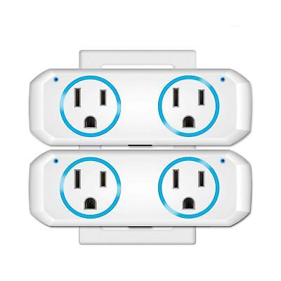 WiFi Smart Plug socket for use with Alexa Echo/Google Home/IFTTT, OUKITEL dual