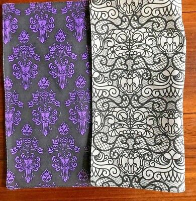 The Haunted Mansion Placemat ORIGINAL PATTERN Purple Wallpaper NWT Disney Parks