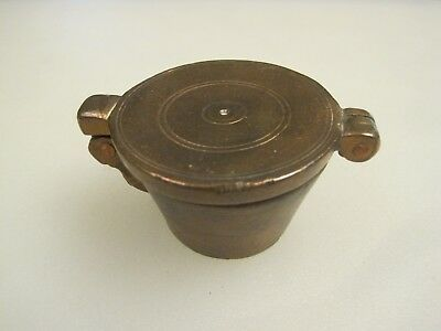 Antique 19th Century Copper Apothecary Nesting Weight Set B9973