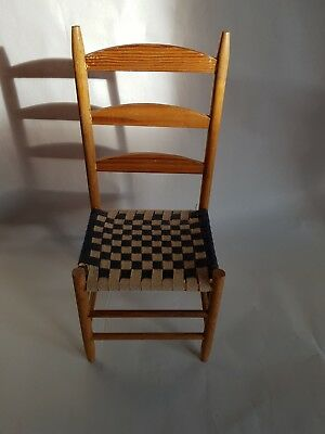 Miniature American Shaker Chair 1930s